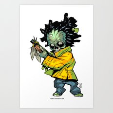 Z gang - Suga Flinn - Villains of G universe Art Print