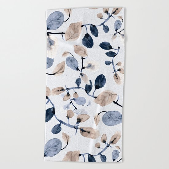 LEAVES 22 Beach Towel
