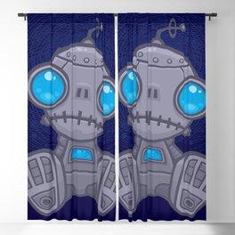 Sad Robot Blackout Curtain