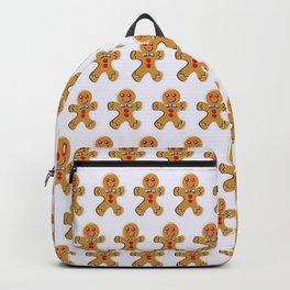 gingerbread men background Backpack