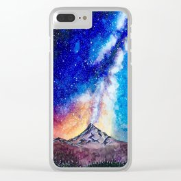 Mount Hood Clear iPhone Case