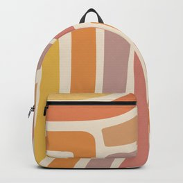 Abstract Stripes IV Backpack