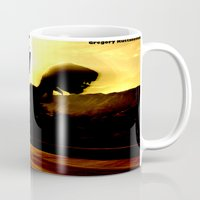 return Mugs featuring THE RETURN by Design Gregory