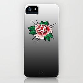 Tattoo Rose iPhone Case
