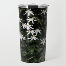 White Fawn Lilies; Open Your Heart Travel Mug