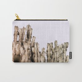 Metal Cactus Carry-All Pouch