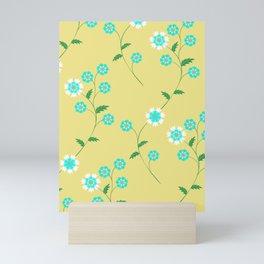Knapweed, centaury, centory flowers Mini Art Print