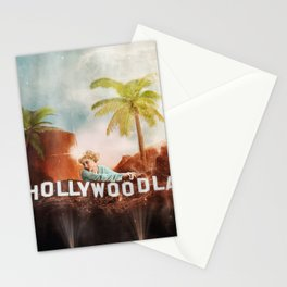 Hollywoodland Collage Stationery Cards