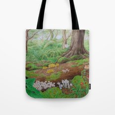 A Day of Forest (5). (dead wood ecosystem) Tote Bag