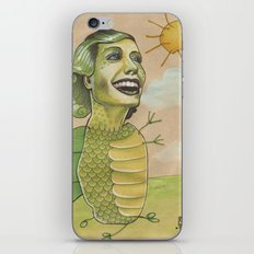 SUNSHINE DINO iPhone & iPod Skin