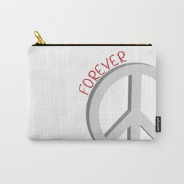 Forever peace symbol Carry-All Pouch