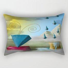 Hello Dali Rectangular Pillow