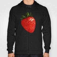 Strawberry Pattern - White Hoody