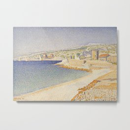 The Jetty at Cassis, Opus 198 Metal Print