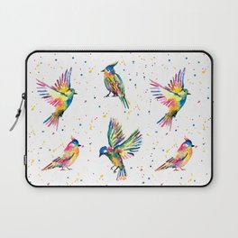 Four Colorful Birds Laptop Sleeve