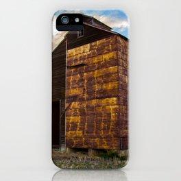 Grain Elevator 3 iPhone Case