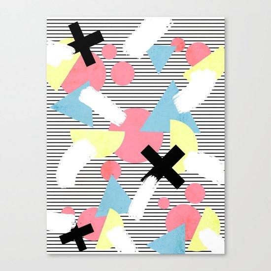 80's Theme Canvas Print