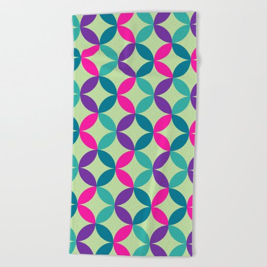 Color Switch II Beach Towel
