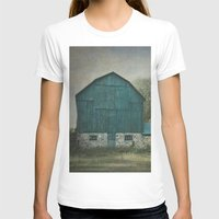 rustic T-shirts featuring Rustic Barn by Pure Nature Photos