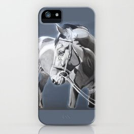 Baltazar II B&W iPhone Case