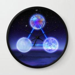 CSETI Logo in 3D Wall Clock