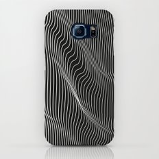 Minimal curves black Galaxy S8 Slim Case