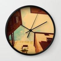 spain Wall Clocks featuring Spain by Emma.B