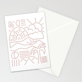 New days every day Stationery Cards