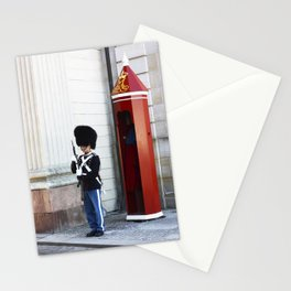The tin soldier Stationery Cards