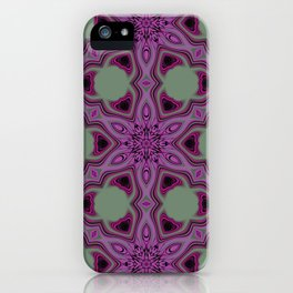 Blueberry blossom 2 iPhone Case