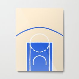 Minneapolis Court Metal Print
