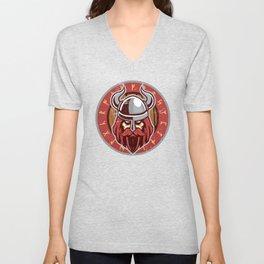 Viking Odin | Raven God Warrior Unisex V-Neck
