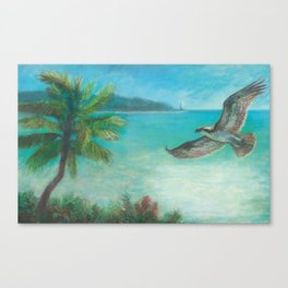 Belle's Journey: Island Hopping Canvas Print