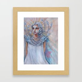 I Choose to Shine Bright Framed Art Print