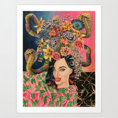 Babealonian Still Life Art Print