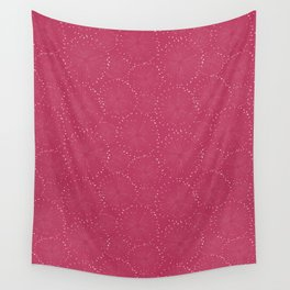 Snowflakes, fireworks pattern Wall Tapestry