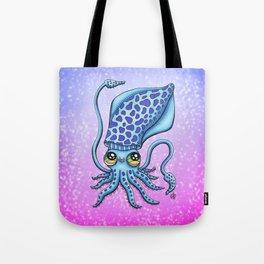 Happy Squid Tote Bag