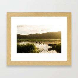 Alpine Morning Framed Art Print