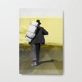 Migrant Highway, California Metal Print