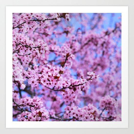 """Pink world"" Art Print"