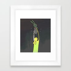 I'll catch you Framed Art Print