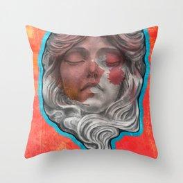 mascaron Throw Pillow