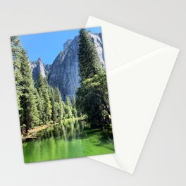 Yosemite Valley Merced River Stationery Cards