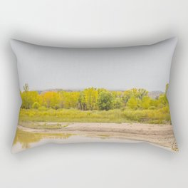 Theodore Roosevelt National Park North Unit, North Dakota 9 Rectangular Pillow