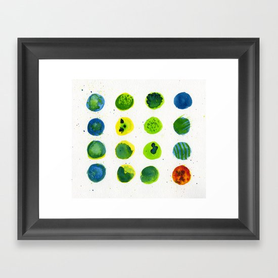 Odd Man Out Framed Art Print