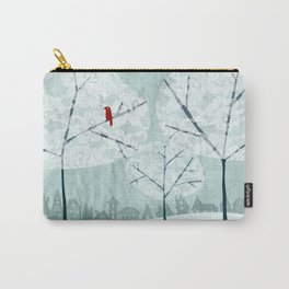 Lace Trees Carry-All Pouch
