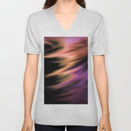 Captured In A Whirlwind Unisex V-Neck
