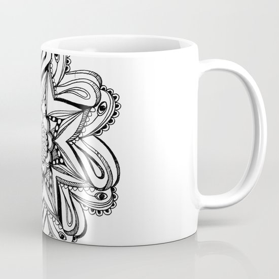 Zendala ornate Coffee Mug