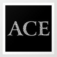 Ace of Spades - Variant Art Print