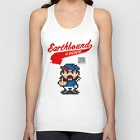 earthbound Tank Tops featuring Earthbound & Down by Jango Snow